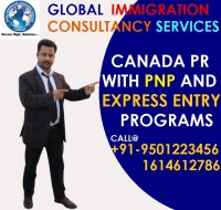 Get Canada PR with Express Entry & PNP programs