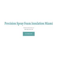 Precision Spray Foam Insulation Miami