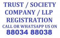 Trust Society and Partnership Firm Registration Call 88034 88038