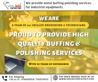 Buffing & Polishing for Industrial Equipments