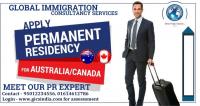 Apply permanent residency for Canada & Australia