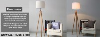 Buy Modern Floor lamps Online at best prices – Grated Ginger