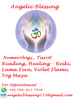 Angelic Blessing - Numerology, Tarot Reading, Healing Services & Training