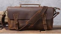 Custom Leather Bag for Men and Women
