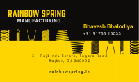 Rainbow Spring Manufacturer Ensures Best Performance of Your Machines