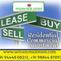 Selvam Enterprises -Buying/Selling of properties, Rentals of Residential & Commercial properties, and Investment in Land.
