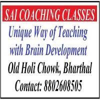 Sai Coaching Classes Bharthal