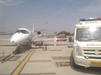 Air Train Ambulance service in Hyderabad