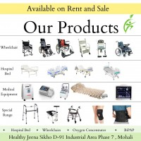Healthy Jeena Sikho - Hospital Bed, Wheelchair, Motorised Recliner Store for Rent and Sale