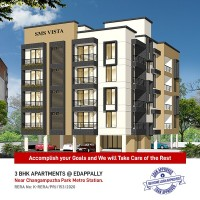SMS VISTA - Affordable apartments in the heart of the city @ Edappally, Kochi