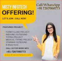 Online Offline Data Entry Projects Available