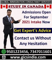 Admissions open for September 2021 intake now in Canada