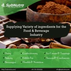 Food & Beverage Ingredient Exporters   Food Ingredient Suppliers India