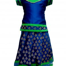 Pattu Pavadai | Traditional dress for girls - Bujuma