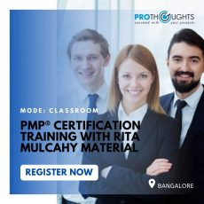 PMP Training in Bangalore, India - ProThoughts