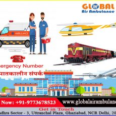 Spare Supports by Global Air Ambulance Services in Patna