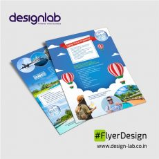 Our flyer poster design make adequate use of branding point