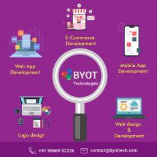 BYOTTECH: Top Web & Mobile App Development Company   Full Stack Development Service