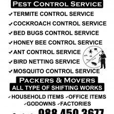 i care enterprises(packers and movers,pest control service ,water proffing works)