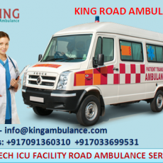 King Advanced Life Support Road Ambulance Service in Patna