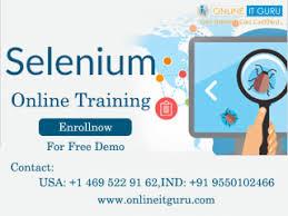 selenium online training   OnlineITGuru